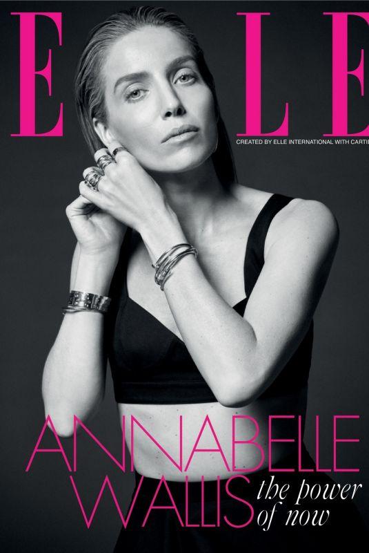 ANNABELLE WALLIS in Elle Magazine, August 2021