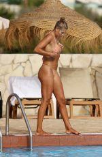 ARABELLA CHI in Bikini at a Pool in Ibiza 07/15/2021