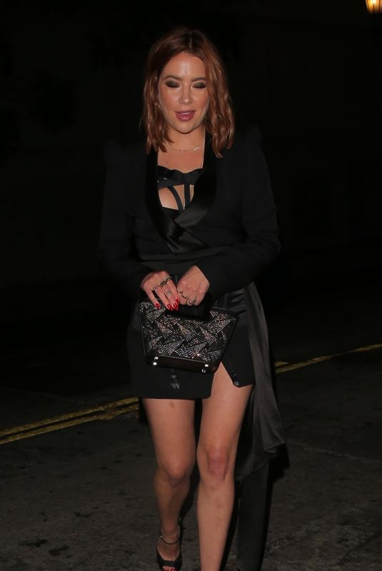 ASHLEY BENSON Night Out in Los Angeles 07/14/2021