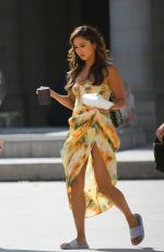 ASHLEY PARK on the Set of Emily in Paris 07/20/2021