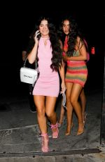 AVA TORTORICI Night Out in Los Angeles 07/30/2021