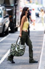BELLA HADID at a Photoshoot for Michael Kors in New York 07/22/2021
