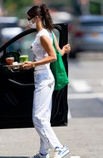 BELLA HADID Out for Coffee in New York 07/17/2021