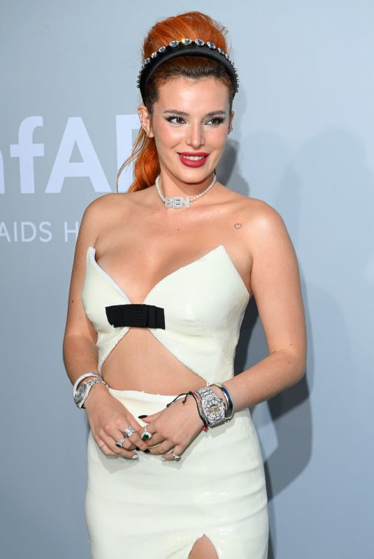 BELLA THORNE at Amfar Cinema Against Aids Gala at Cannes Film Festival 07/16/2021