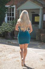 BIANCA GASCOIGNE Heading to Gatsby Bar in Berkhamsted 07/17/2021