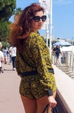 BLANCA BLANCO Out and About in Cannes 07/19/2021
