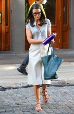BRIDGET MOYNAHAN on the Set of Sex and the City Reboot in New York 07/19/2021