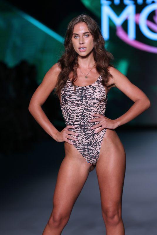 BRIT MANUELA at Liliana Montoya Swim Runway Show in Miami 07/08/2021