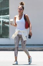 BROOKE BURKE Out and About in Malibu 07/21/2021