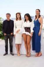 CAMELIA JORDANA at Talents Adami Photocall at 74th Annual Cannes Film Festival 07/13/2021
