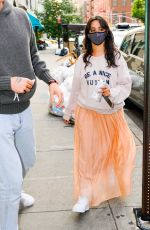 CAMILA CABELLO and Shawn Mendes Out in New York 07/22/2021