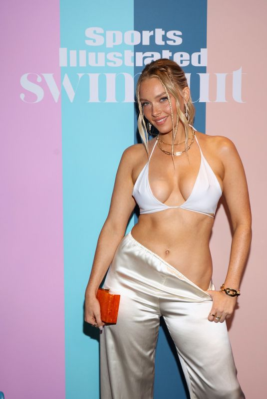 CAMILLE KOSTEK at Sports Illustrated Swimsuit 2021 Private Event in Hollywood 07/24/2021