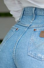 CAMILLE KOSTEK for Wrangler Jeans, 2021