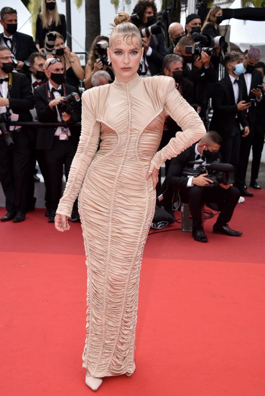 CAMILLE RAZAT at Les Intranquilles Screening at 74th Annual Cannes Film Festival 07/16/2021