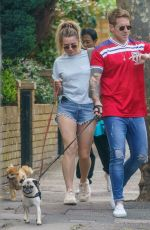 CANDICE BROWN Out in London 07/08/2021