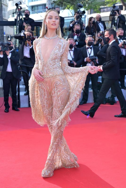 CANDICE SWANEPOEL at Annette Screening and Opening Ceremony at 74th Cannes Film Festival 07/06/2021