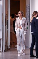 CANDICE SWANEPOEL Leaves Martinez Hotel at 74th Cannes Film Festival 07/07/2021