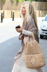 CAPRICE BOURRET Leaves Laylow Restaurant in London 07/02/2021