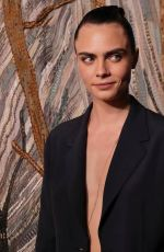 CARA DELEVINGNE at Dior Fall-Winter 21/22 Fashion Show in Paris 07/05/2021