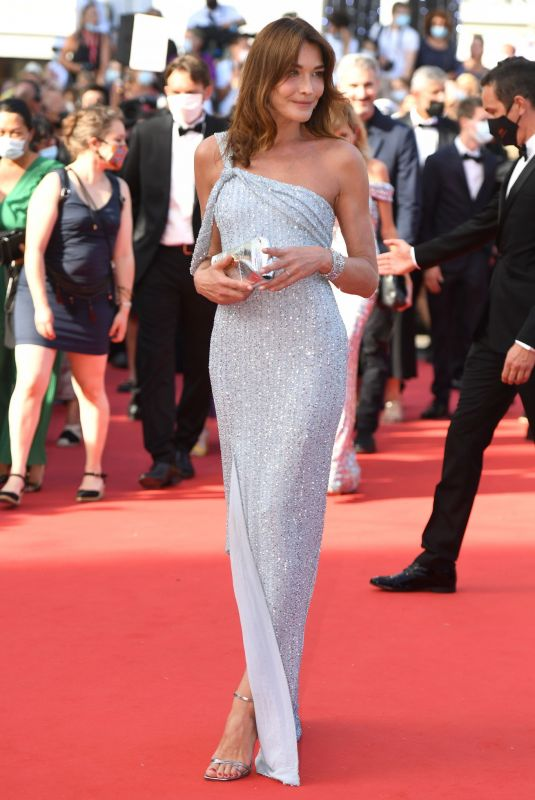 CARLA BRUNI at Annette Screening and Opening Ceremony at 74th Cannes Film Festival 07/06/2021