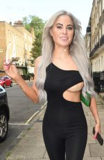 CARLA HOWE Out and About in London 07/13/2021