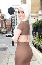 CARLA HOWE Out and About in London 07/27/2021