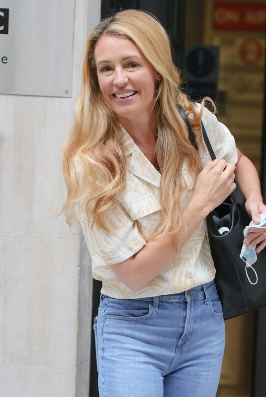 CAT DEELEY at BBC Radio 2 in London 07/24/2021