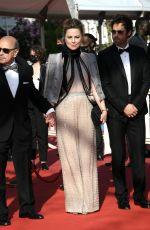 MELISSA GEORGE at De Son Vivant Screening at 74th Annual Cannes Film Festival 07/10/2021