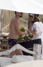 CATHERINE HARDING on the Beach in Ibiza 07/25/2021