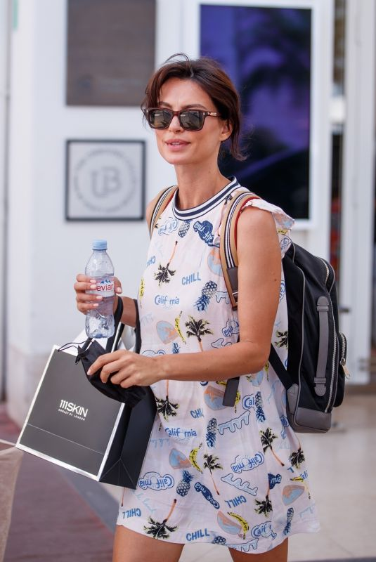 CATRINEL MENGHIA at Martinez Hotel at 74th Cannes Film Festival 07/11/2021