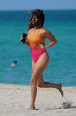 CHANEL WEST COAST in Swimsuit at a Beach in Miami 07/08/2021