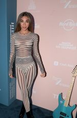 CHANTEL JEFFRIES at 2021 Sports Illustrated Swimsuit Celebration in Hollywood 07/24/2021