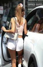 CHANTEL JEFFRIES Out and About in West Hollywood 07/19/2021
