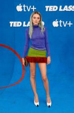 CHARLOTTE LAWRENCE at Ted Lasso Season 2 Premiere in West Hollywood 07/15/2021