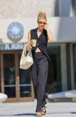 CHARLOTTE MCKINNEY at Blue Bottle Coffee in West Hollywood 07/28/2021