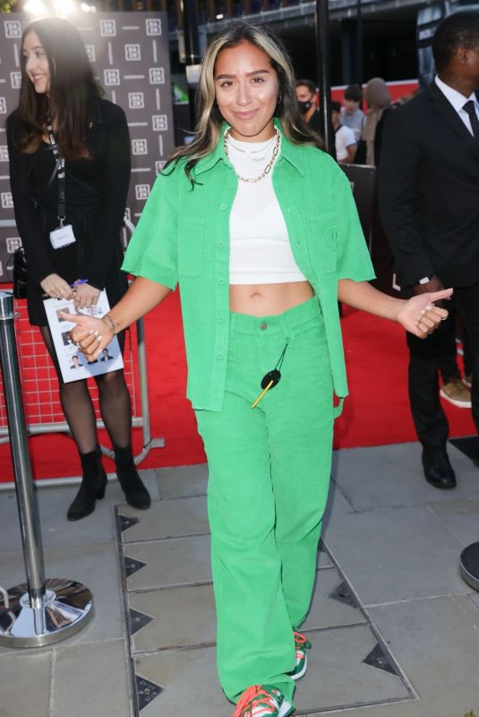 CHELCEE GRIMES at DAZN Matchroom in London 07/27/2021