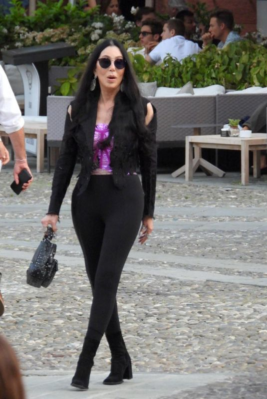 CHER Out and About of Portofino 07/18/2021