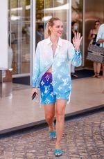 CHIARA FERRAGNI at Martinez Hotel in Cannes 07/08/2021