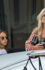 CHLOE and TINA GREEN at a Yacht in Saint-Tropez 07/04/2021