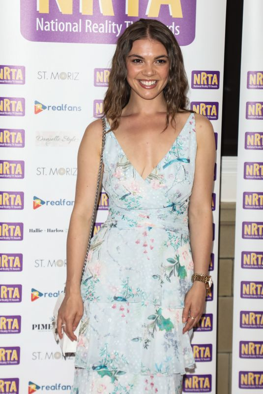CHLOE HEWITT at National Reality TV Awards Afterparty in London 07/22/2021