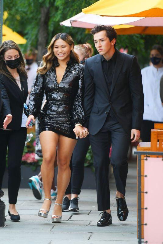 CHLOE KIM Heading to ESPY's Awards in New York 07/10/2021