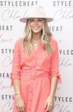 CHLOE LEWIS Launching Her Brand New High Summer Collection with stylecheat.com in London 07/01/2021