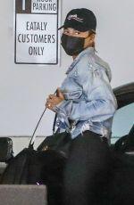 CHRISSY TEIGEN Wearing a Mask Out in Los Angeles 07/15/2021