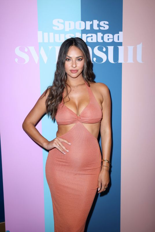 CHRISTEN HARPER at 2021 Sports Illustrated Swimsuit Launch Celebration in Hollywood 07/24/2021