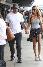 CHRISTINA ANSTEAD at LAX Airport in Los Angeles 07/06/2021