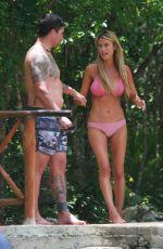 CHRISTINA ANSTEAD in Bikini at a Natural Swimming Hole in Tulum 07/08/2021