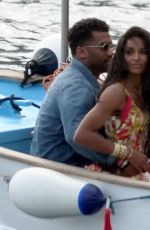 CIARA and Russell Wilson Out on Holidays in Capri 07/08/2021