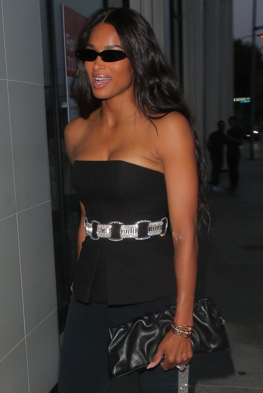 CIARA WILSON at Catch LA in West Hollywood 07/15/2021