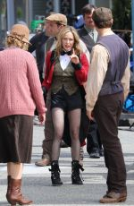 CIATY LOTZ on the Set of Legends of Tomorrow in Vancouver 07/20/2021