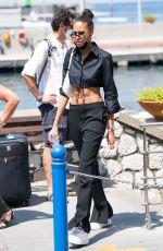 CINDY BRUNA Arrives in Capri 07/30/2021